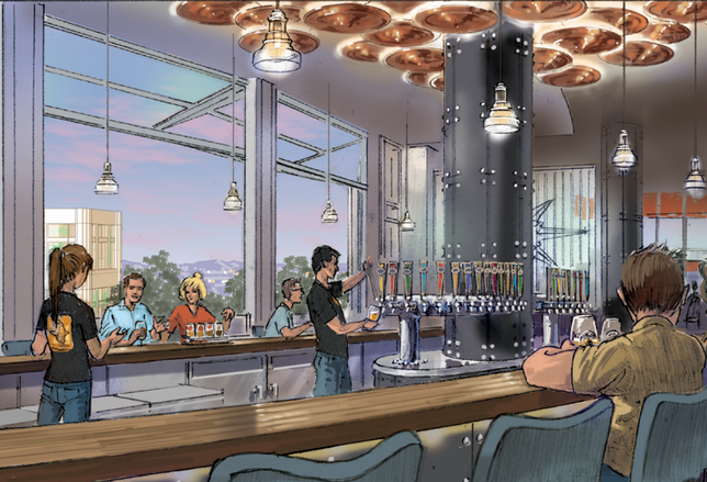 When it opens sometime this year, Ballast Point will become the first craft brewery joint at Downtown Disney in Anaheim.