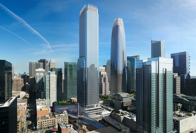 JV Submits Refined Plans For Mixed-Use Tower At Transbay Parcel F