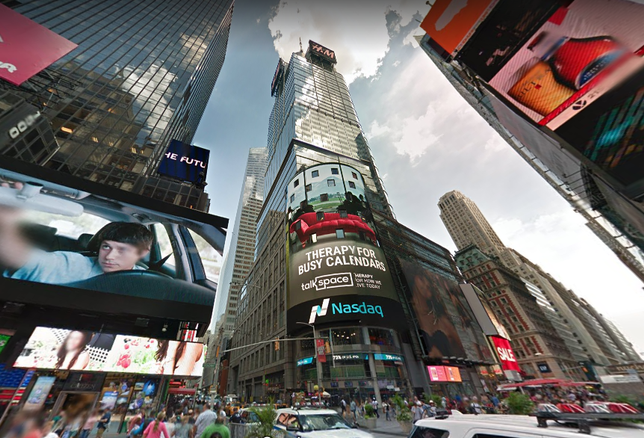Nasdaq To Move Headquarters From FiDi To Times Square