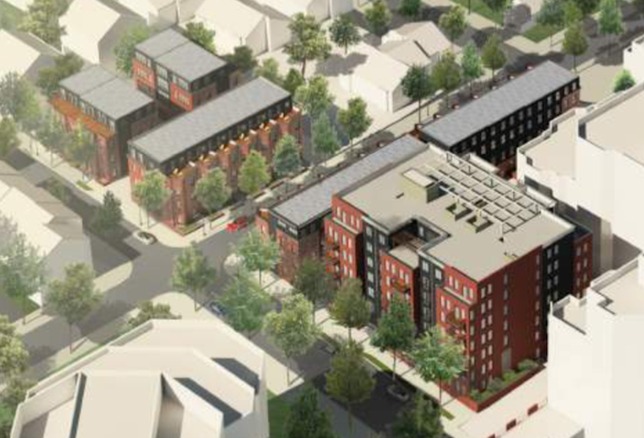 NVR Homes Ballston project