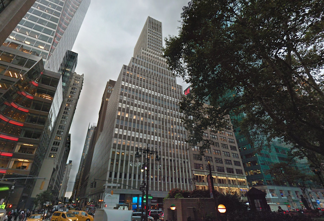 5 Bryant Park in Midtown Manhattan