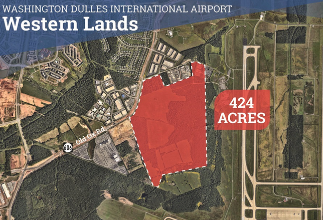 Dulles International Airport Western Lands Site