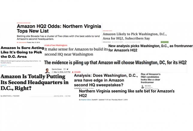 Amazon to D.C. Collage