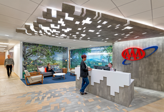 HGA Brings Road Trip Atmosphere To AAA Northern California Headquarters Redesign