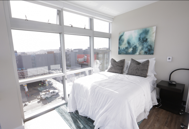 An example of a converted HomeShare room in San Francisco