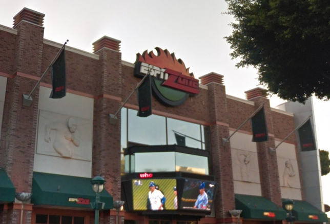 ESPN Zone in Anaheim closes to make way for a new Disney hotel.