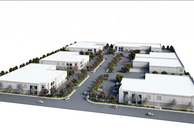 Echelon Business Park in the city of Industry