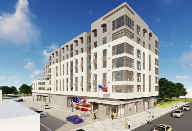American Legion Virginia Square redevelopment