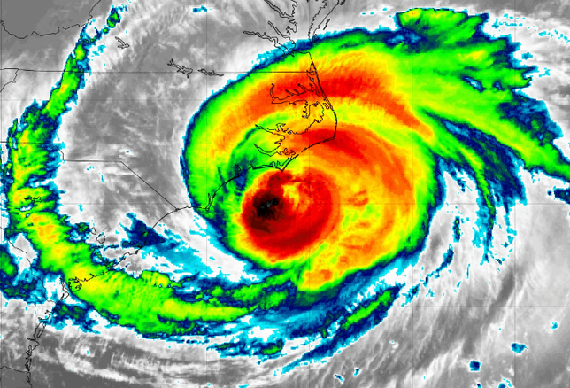 Hurricane Florence: The 5 Largest Properties Backed By CMBS Loans In FEMA-Declared Risk Zones