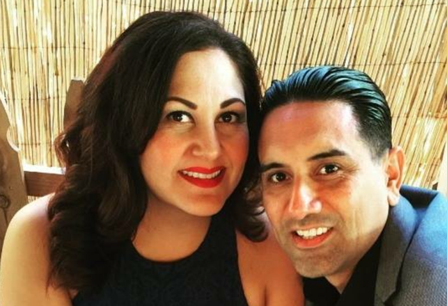 Beacon Capital Partners' Yvonne Apodaca and her boyfriend of 14 years, Louie