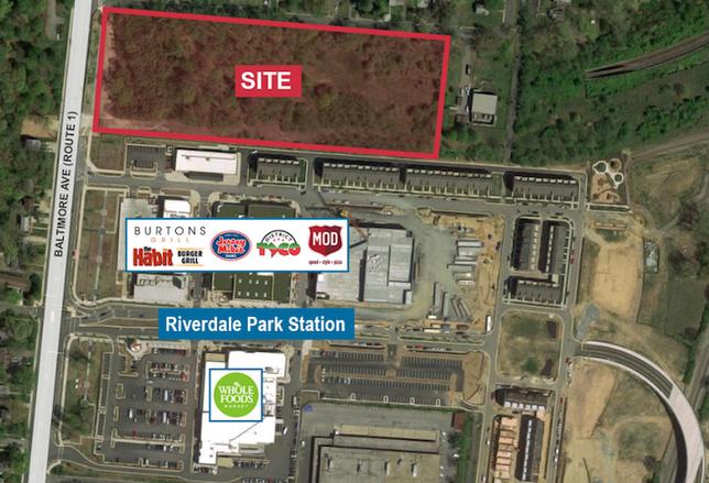 WMATA site Riverdale Park