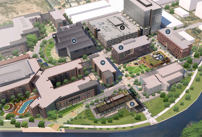 Midway's East River Project To Include Office, Retail, Hotel