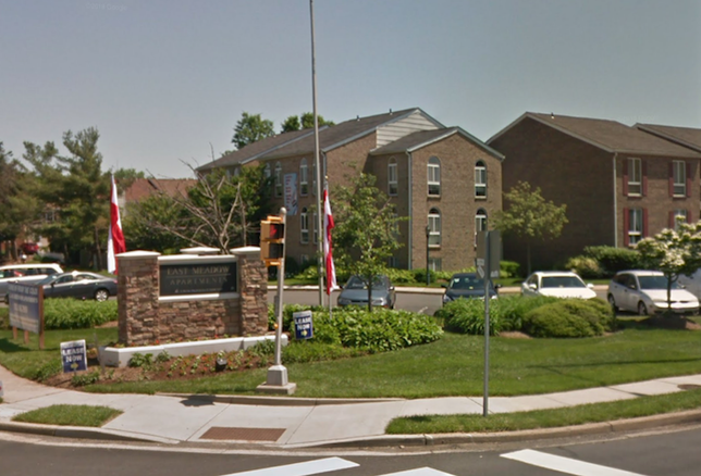 The East Meadow apartments in Fairfax, which Lone Star sold for $43.8M in March