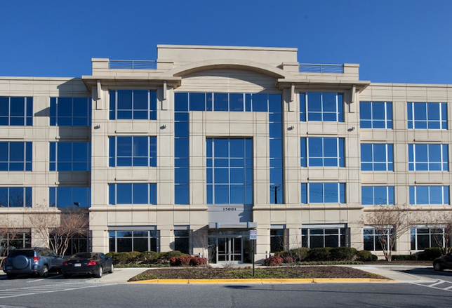 The Shady Grove Professional Center medical office building in Rockville, which Anchor Health Properties acquired in 2018