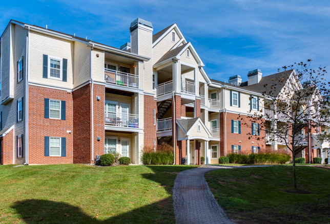 The Point at McNair Farms community in Herndon, one of the properties WashREIT acquired