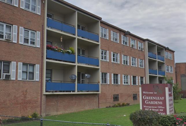 The Greenleaf Gardens public housing community