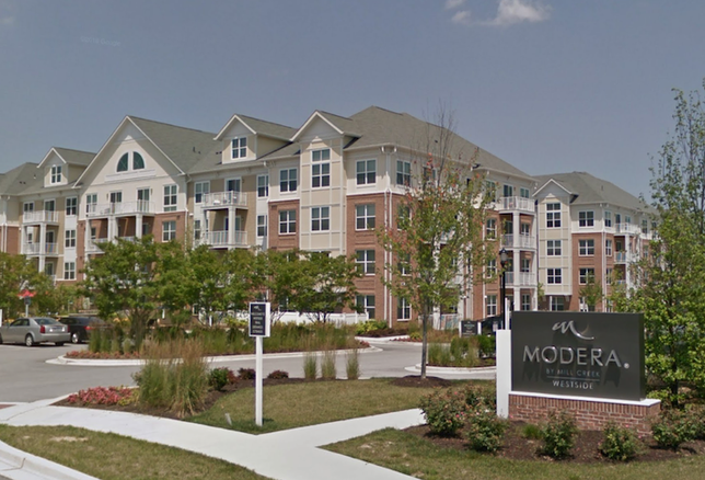 The Modera Westside Apartments in Laurel