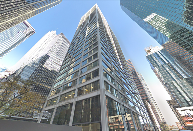 Wall Street Plaza, an office building in Manhattan's Financial District