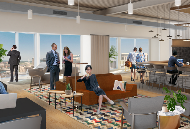 Common Desk To Open In Trammell Crow Center Downtown