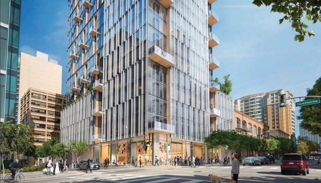42-Story Mixed-Use SoMa Tower Moves Ahead