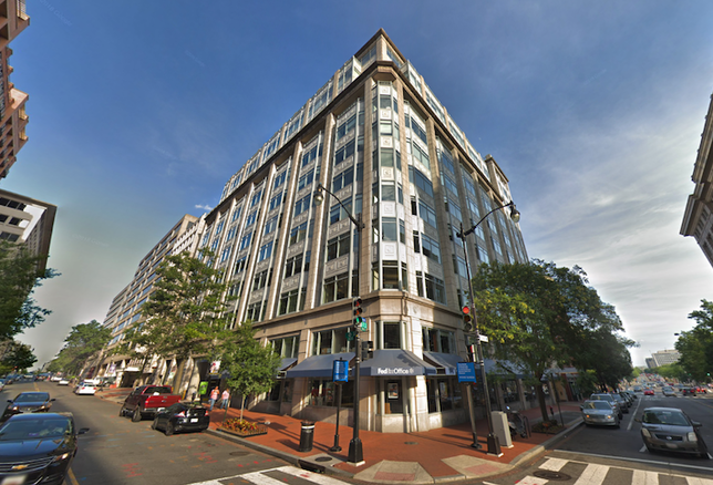 The office building at 325 7th St. NW