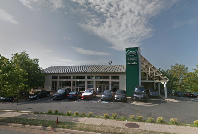 The Land Rover dealership at 2712 Duke St. in Alexandria