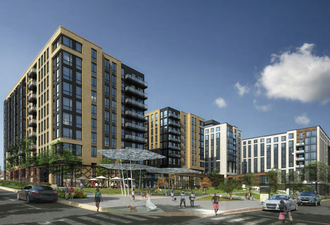 A rendering of the Sursum Corda development