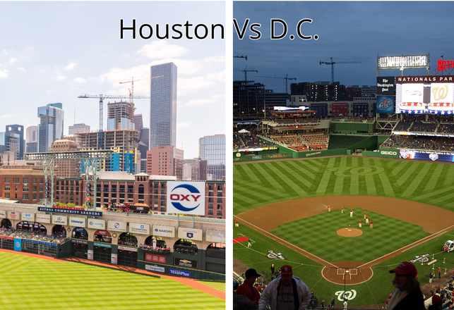 Houston vs. D.C.