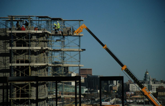 Construction is struggling to keep up with demand for multi-family units in Denver.