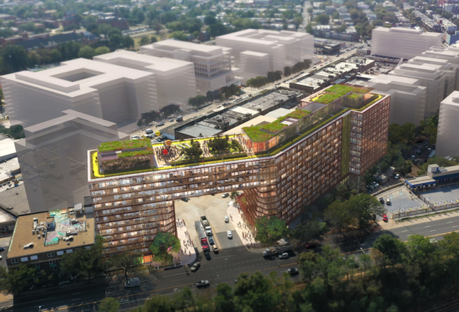 Edens Reveals Striking Design For Arch-Style Building In Union Market