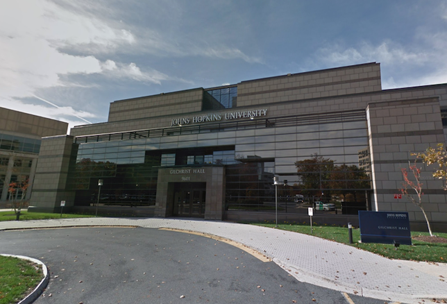 Johns Hopkins' Rockville campus at 9601 Medical Center Drive