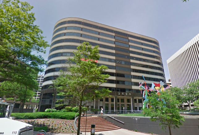 The office building at 1525 Wilson Blvd. in Rosslyn