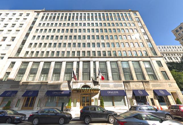The Sofitel Washington D.C. Lafayette Square hotel at 806 15th St. NW