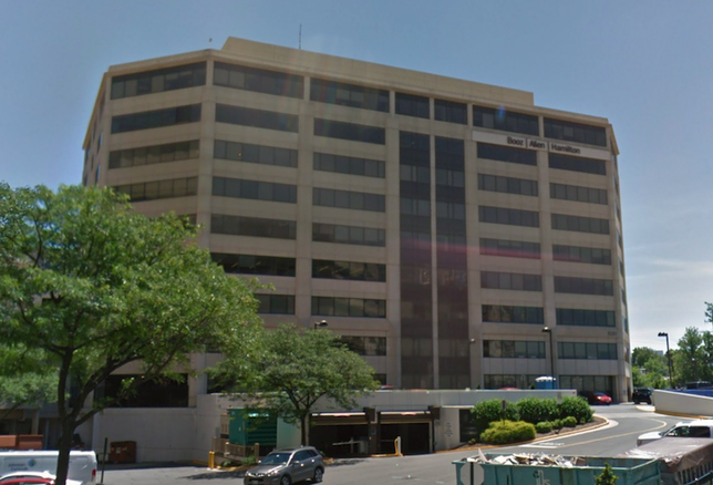 The John Marshall II office building at 8283 Greensboro Drive in Tysons