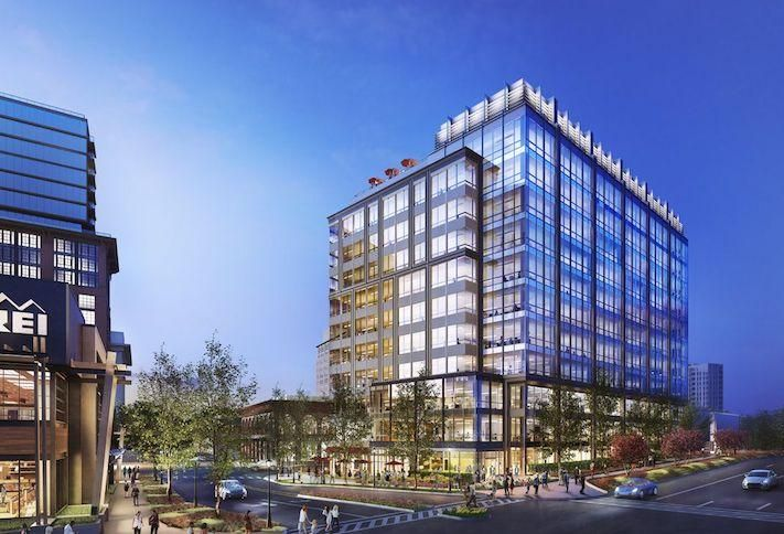 Federal Realty Lands First Tenant In Spec Office Building At Pike & Rose
