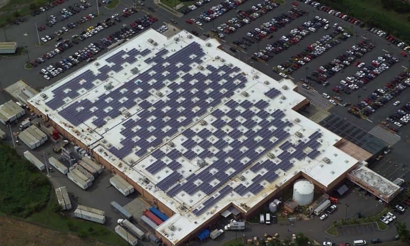 Walmart Sues Tesla Over Solar Panels That Burst Into Flames Atop Its Stores