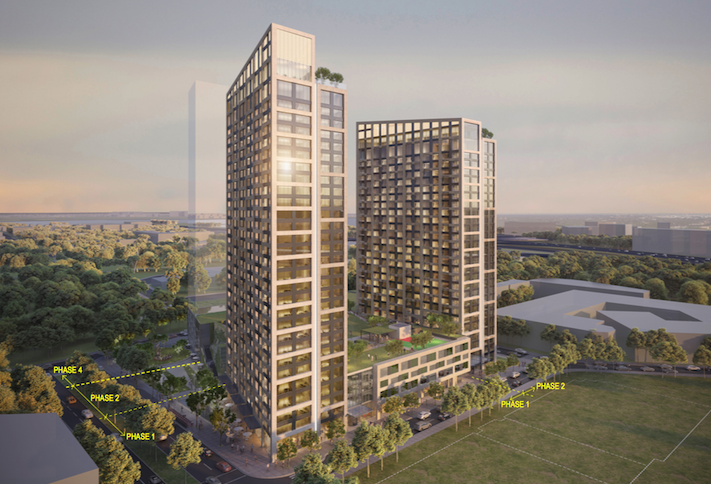 JM Zell Pivots From Office To Multifamily For High-Rise Alexandria Project