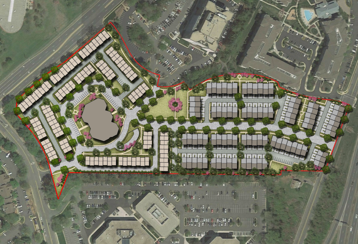 Office-To-Residential Conversion Trend Continues With 400-Unit Proposal In Fairfax