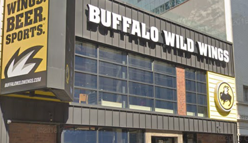 Times Square Buffalo Wild Wings Sued For $3M In Back Rent, Taxes