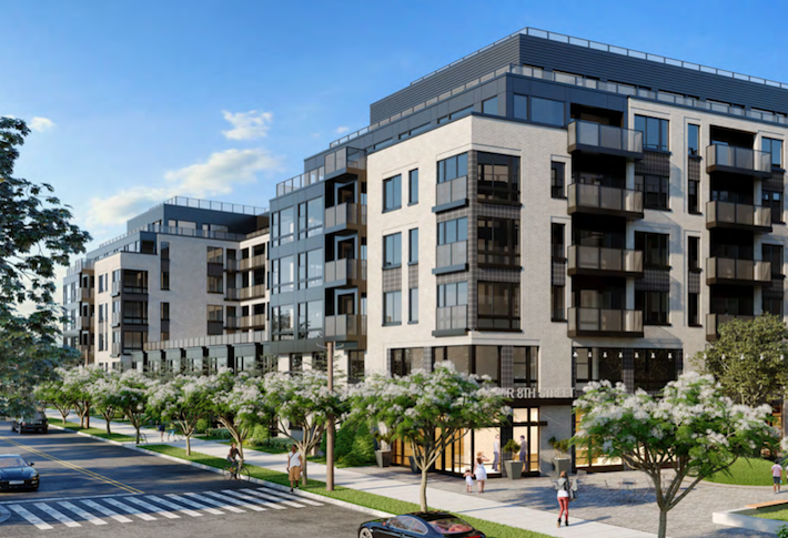 Hanover Closes Land Buy, Construction Loan For 377-Unit Brookland Project