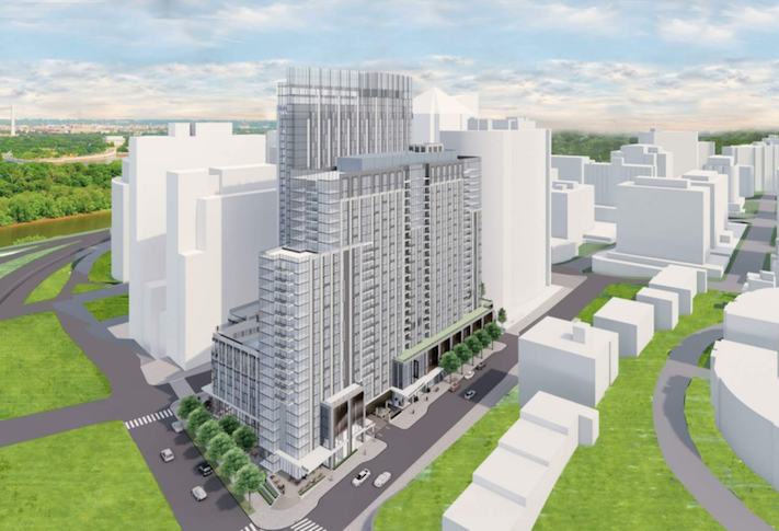 Rosslyn Developer Scales Back Hotel Component In Response To Pandemic