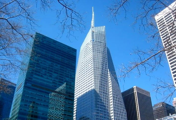 5) Bank of America Tower