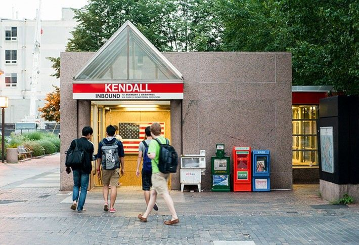 3) Kendall Square, Boston-Cambridge
