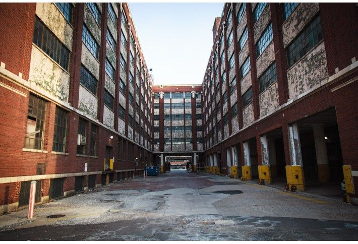 6. City-owned warehouse