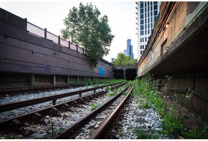 7. CTA Train Tunnel