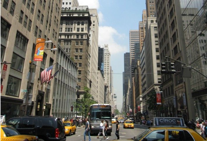 1. Fifth Ave. (49th -- 60th Sts.)
