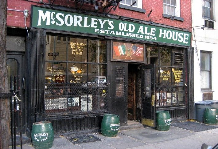 1. McSorley's Old Ale House