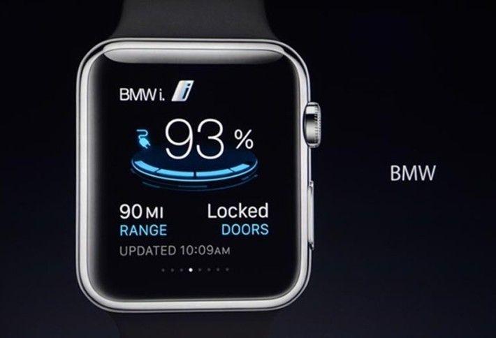 App - BMW i Remote