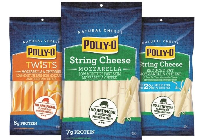 Polly-O String Cheese, Mozzarella
