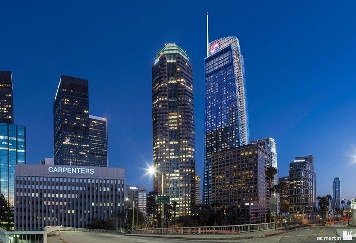 10. Wilshire Grand Center, Los Angeles